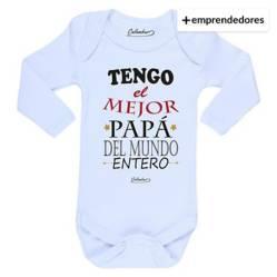 Body Bebé Tengo El Mejor Papá Del Mundo