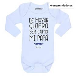 Body Bebé Quiero Ser Como Mi Papá