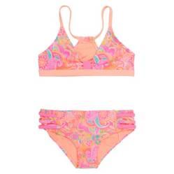 Bikini Niña Sublimado Flores +Uv30