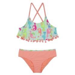 Bikini Niña Vuelos y Pompon +Uv30