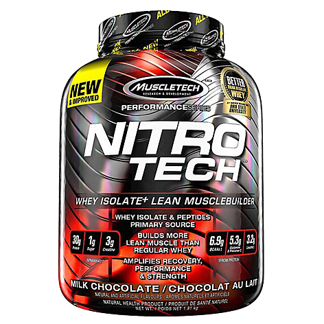 Nitro Tech 4 Lbs - Muscletech Chocolate