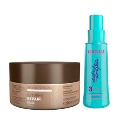 Hydrating Mask Extreme Repair 200 grs +  Fluido Finalizador 90 ml