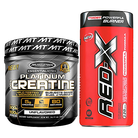 Pack Quemador Red X + Creatina 400g