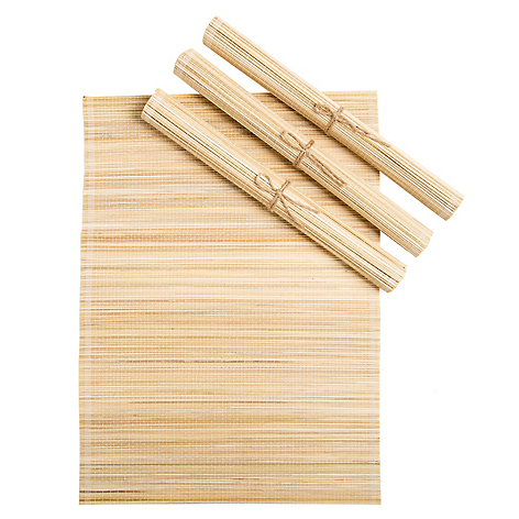 Set 4 Individuales Bamboo Solid
