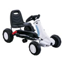 Go Kart a pedales III Blanco