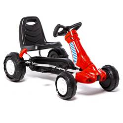 Go Kart a pedales III Rojo