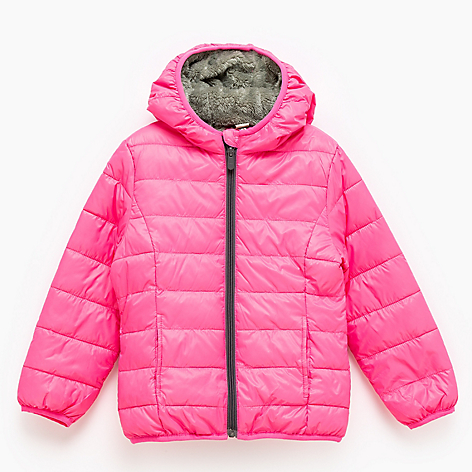 Parka Forro Coral Fleece