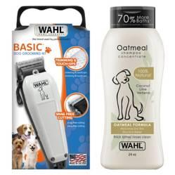 Combo Cortapelos Mascotas Pet Clipper Kit 9160 + Shampoo Oatmeal de Avena
