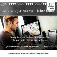 Nikon - Cupón para Curso online básico de Fotografia