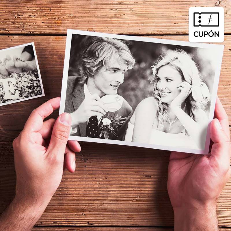 SNAPSHOT - Impresión Pack de 100 fotos 15 x 20 cm
