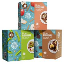 THE LIVE GREEN CO - 3 Sabores   Green Pancake Mix