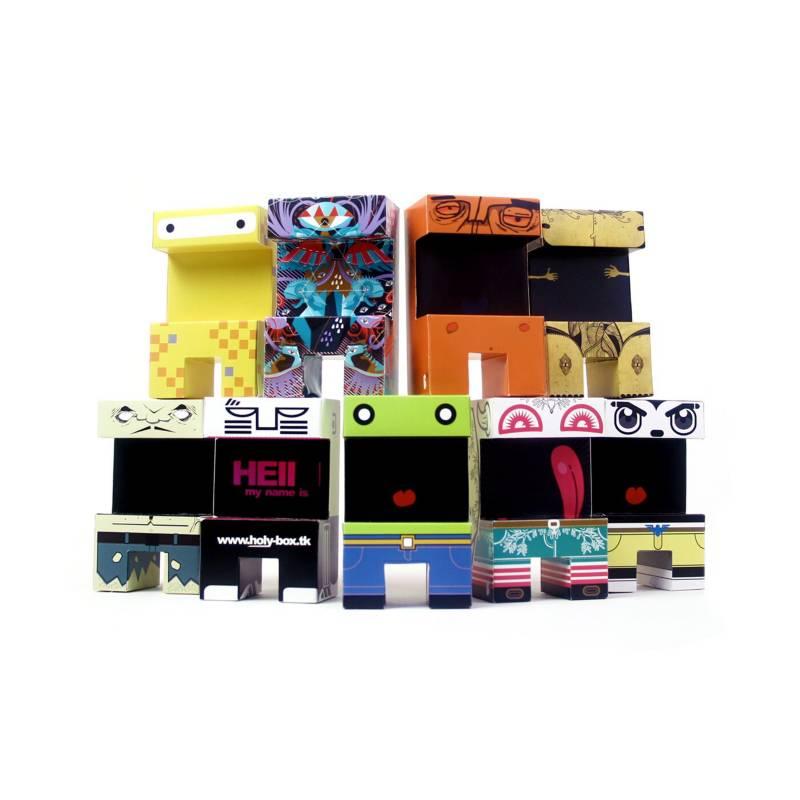 PROYECTO ENSAMBLE - Paper Toys Serie 1 Original