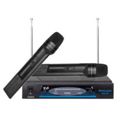 Philco - Microfonos Inalambricos Vhf Philco Pro