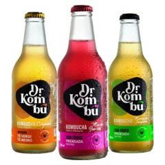 DR. KOMBU KOMBUCHA - Kombucha Dr.Kombú - Pack 12 Mix Sabores