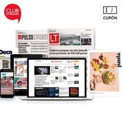 La Tercera - 6 meses de Plan Digital La Tercera + Impreso Sab - Dom