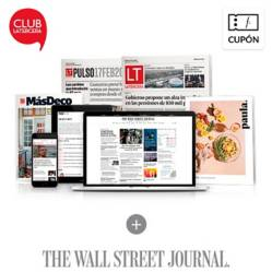 La Tercera - 12 meses Plan Digital La Tercera + The wall street journal  + Impreso Sab - Dom