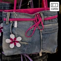COSTURAS Y MODA - Clases online de Reciclaje de Prendas de vestir: Totebag de jeans Top