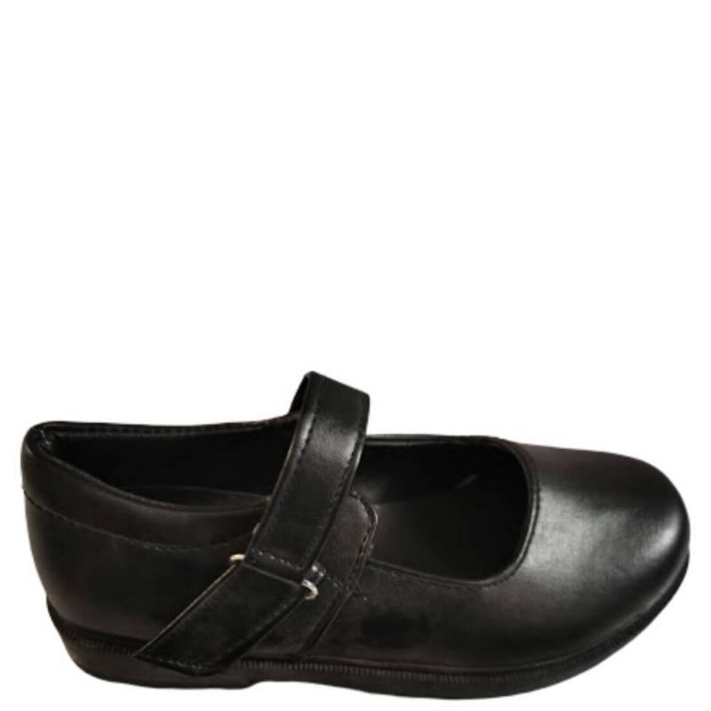 VINNYS OUTLET - Zapato Niña Negro Escolar