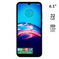 Motorola - Motorola E6S 2Gb Ram 32Gb Rom Azul