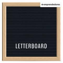 REGALITOLINDO.CL - Pizarra con Letras Letter Board Black