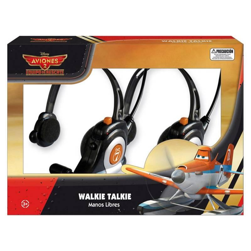 Hasbro - Walkie Talkie Manos Libres Fire  Rescue