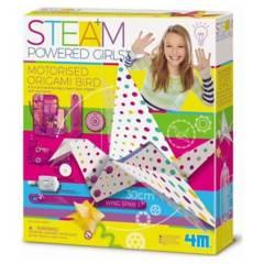4M - Pajaro Origami Motorizado
