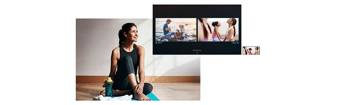 Samsung The Serif 4K Smart TV 2020