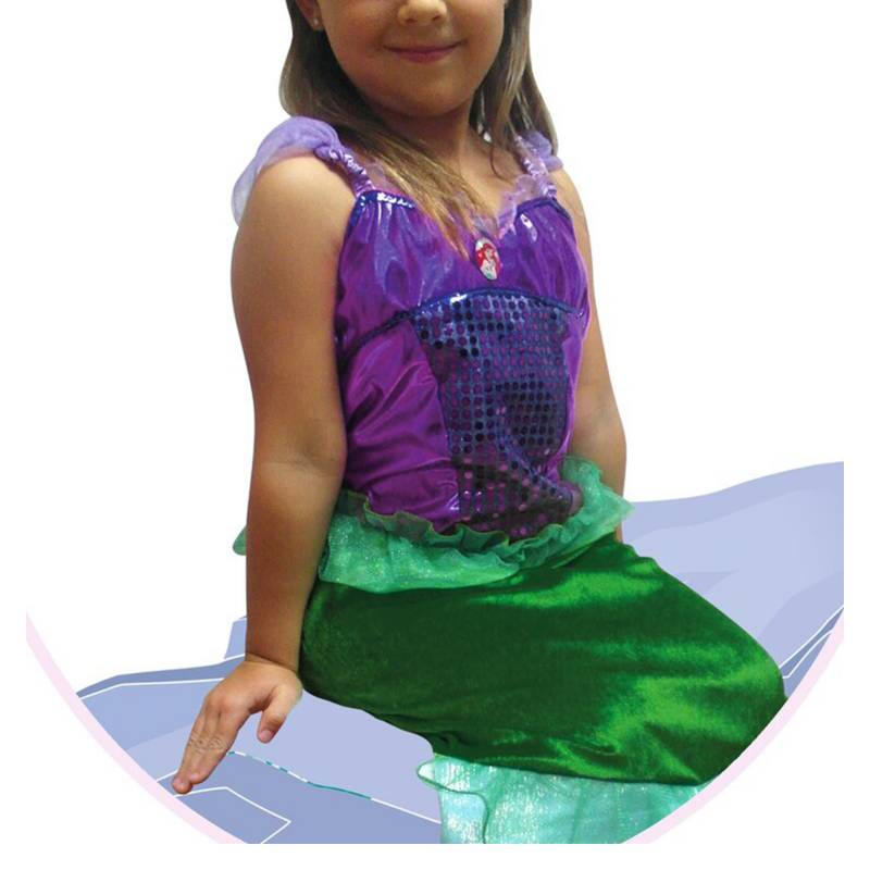 Disney - Disfraz Deluxe Ariel Disney