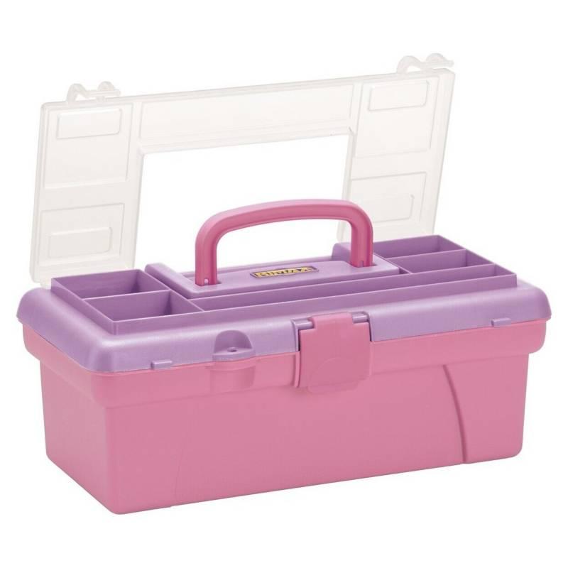 RIMAX - Caja Organizadora Vanity Rosada