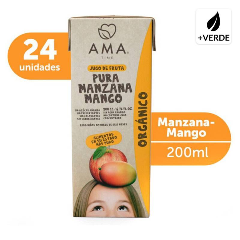 AMA - Jugo Manzana Mango Orgánica 24x200cc