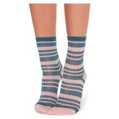CALZEDONIA - Calcetines cortos con estampado de rayas