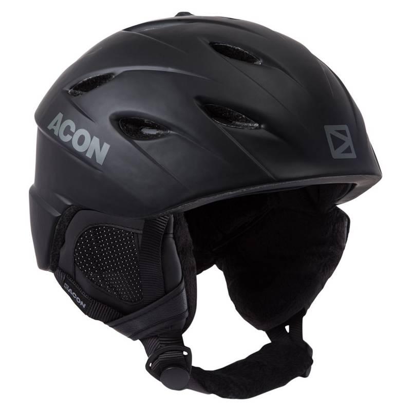 ACON - Casco Nieve Alpine One Black