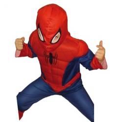 SPIDERMAN - Disfraz Spiderman Ultimate Deluxe 4-5 Años