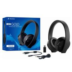 Sony - Audífonos Playstation PS4 Gold Wireless Stereo Headset Gamer