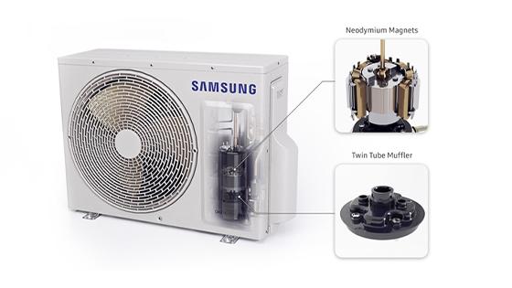 Samsung Split Wind-Free, Inverter, 9000 BTU, WI-FI, Frío & Calor