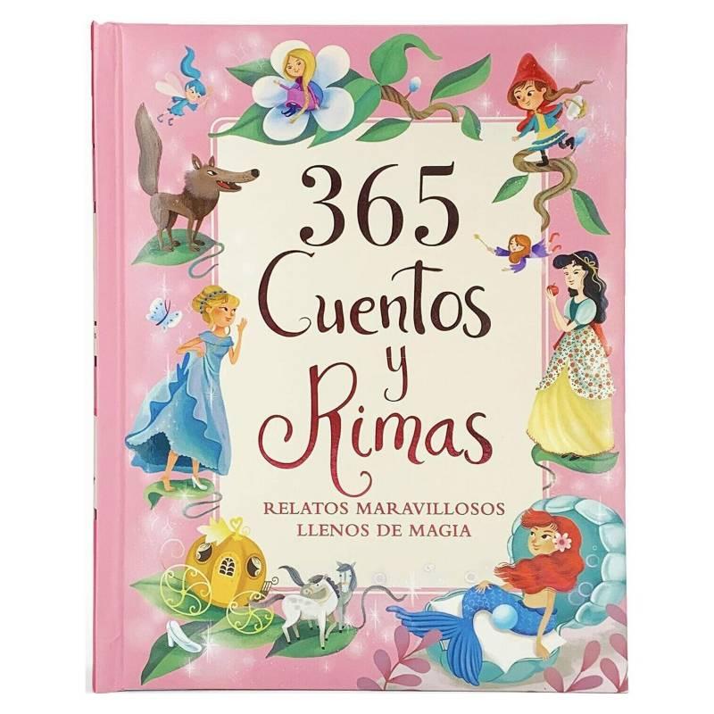 Editorial Contrapunto - 365 Cuentos y Rimas (Rosado). Relatos Maravilloso