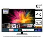 "Samsung - QLED 85"" QN85Q80TAGXZS 4K Ultra HD Smart TV"