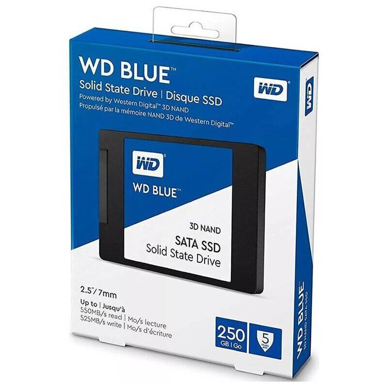 WESTER DIGITAL - Disco Ssd Wester Digital Blue 250Gb 2.5 Int Sata
