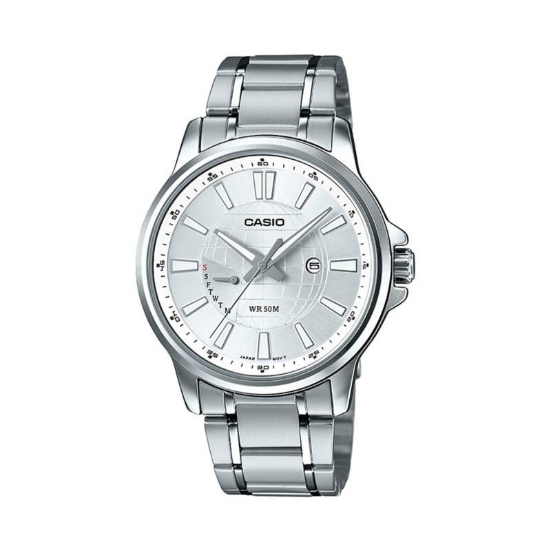 Casio - Reloj análogo Hombre MTP-E137D-7AVDF