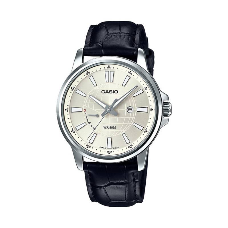 Casio - Reloj análogo Hombre MTP-E137L-9AVDF