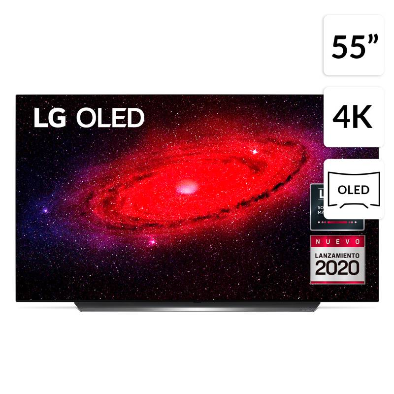 "Lg - OLED 55"" OLED55CX 2020 4K UHD Smart TV  + Magic Remote"