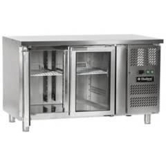 MARSOL - Mesón Refrigerado 2 Puertas de Vidrio Hudson 290L