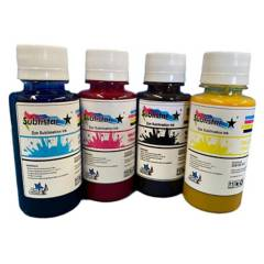 BSQ - Pack Tinta Sublimacion de 100 Cc