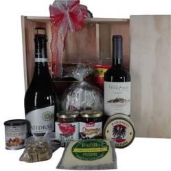 EMPORIO NACIONAL - Caja Almacigo de Madera Gourmet