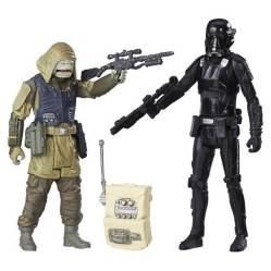 Hasbro - Star Wars Imperial Death Trooper / Rebel Commando