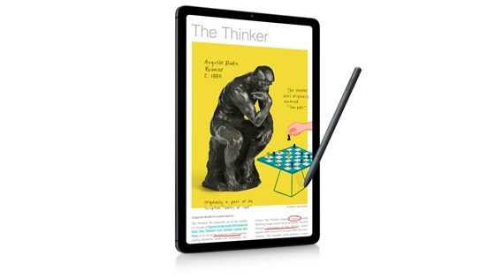 Galaxy Tab S6 Lite + Book Cover (10.4