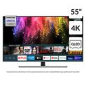 "Samsung - QLED 55"" Q70T 4K UHD Smart TV 2020"