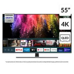 "Samsung - QLED 55"" Q70T 4K UHD Smart TV 2020"
