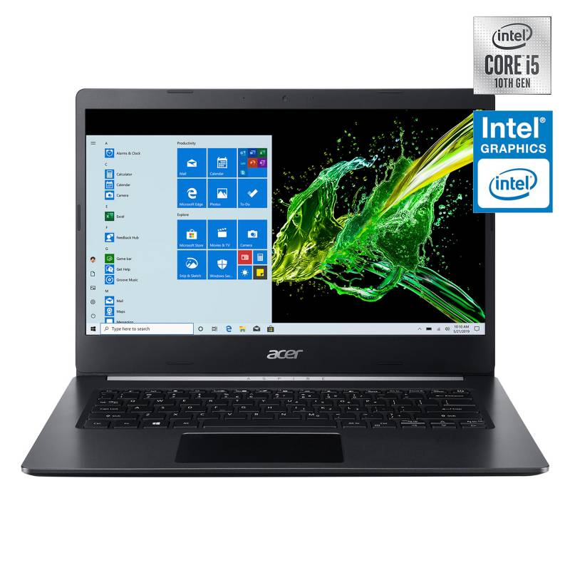Acer - Notebook Aspire Intel Core i5-1035G1 12GB RAM 256GB SSD 14""