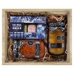 CONDIMENTOS NAU - Caja Premium Gourmet 23 Caja de Madera